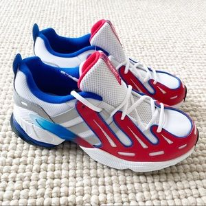 Adidas EQT Gazelle J White Red Blue Shoes EG5650